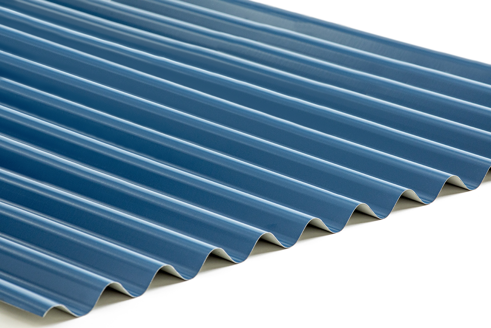 """7/8"""" Corrugated Metal Roofing Material"""