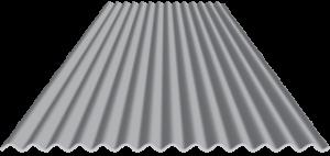"Corrugated Metal Material .875 x 36"" x 40'"