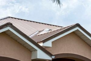 Metal Roofing on Home